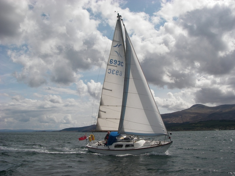 A good breeze for Tobermory