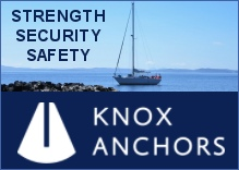 Knox anchors - high holding power, made in Scotland
